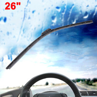 Wholesale 26 Inch Length Black Plastic Silicone Windscreen Windshield Wiper for Car
