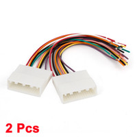 Wholesale 2 Auto Car Stereo Wire Harness Female Adapter Cable for Toyota