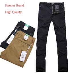 Wholesale Business Gentleman Trousers Man Crocodile Famous Brand Outdoors Pants Men Straight Thin Cotton Ski Pants Factory Sale Lacost1308