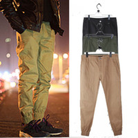 jogging pants - Vintage street male trousers casual pants trousers reentrant jogging pants men jogger college students Shrinkage foot trousers