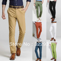 Wholesale New Boutique UYUK tide male han edition small straight leg pants cultivate one s morality men s trousers slacks Color