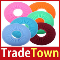 Cheap Wholesale-New Design [TradeTown] Bathroom Warmer Toilet Washable Cloth Seat Cover Pads Better Price 2014 Big Promotion