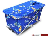 Wholesale folding bathtub bath barrel non acrylic tub magnetic free standing keep warm bathtub insulation material