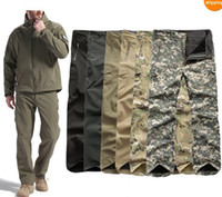 Wholesale Men Casual Military Tactical Combat Soft Shell Waterproof Pants Trousers