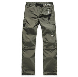 Wholesale Mens Pants Brand Military Quick Dry Uv Resistant Fast Drying Speed Trousers Outdoors Sport Fishing Camping Active Moletom