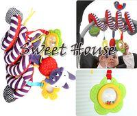 Wholesale Hot Sale Baby Toys Plush Multipurpose Bed Circle Round Educational Toys Hanging Toy Mirror Bird Travel Toys Gift SV18 SV007215