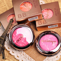 Wholesale Palma Christie Mineralize Powder Blush Face Cheek Blusher BB Baked Ice cream10Colors Charming Long lasting