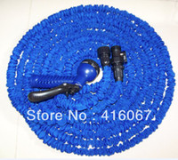 Wholesale Hose ft Durable Flexible Dual layer Water Tube Pocket Garden with water gun