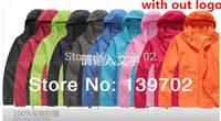Wholesale NO Logo Jacket Men amp Women Waterproof Hiking Jacket Windbreaker Camping Jacket Hunting Clothes18 Colors Plus Size XS XXXL