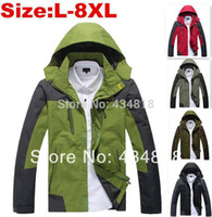 hunting clothes - Men s Softshell XL Plus Size Camping amp Hiking ManSki Suit Mountaineering Skiing Outdoor Jacket Hunting Clothes
