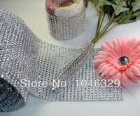 Wholesale Various Mesh Wrap Spark Rhinestone Ribbon DIY Party Decoration width quot pz01