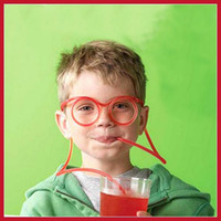 Wholesale Original coindeal Fun Drinking Unique Flexible Novelty Soft Glasses Straw Glasses Drinking Tube hours dispatch Newest Fashion