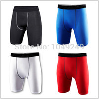 Wholesale New DRI FIT Brand Mens Sport Shorts Compression Wear Running Basketball Training Tights Fitness Trousers Plus size