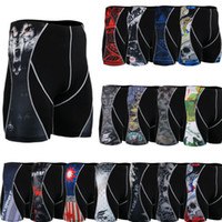 Wholesale Top Seller Fixgear Personalized Men s Tight Shorts Running Training Body building Soccer Basketball Compression Fitness Shorts