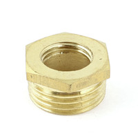 female thread adapter - 3 PT Male to PT Female Hex Thread Brass Bushing Piping Connector Adapter