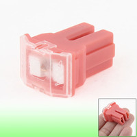 Wholesale 30A Amp Plastic Shell Female Pacific Type Fuse Pink for Auto Car