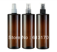 Cheap 500ml DIY pet perfume bottle 500cc mist spray bottle plastic container brown Free shipping