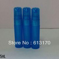 Cheap 5ml perfume sub-bottling bottle plastic bottle small spray bottle spray bottle sub-bottling blue free shipping