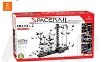 Wholesale Resale gift Toy Roller Coaster Space Rail Level Spacewarp Spacerail Warp Warp Drive Space Orbitor Space for Speed