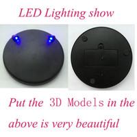beautiful jigsaw puzzle - Beautiful D puzzle metal LED light base DIY jigsaw educational puzzles toys