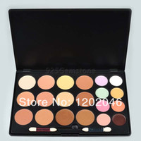 Wholesale New Color Neutral Camouflage Professional Makeup set Concealer Palette with brushes