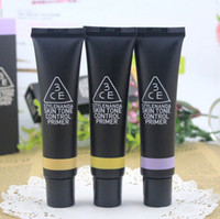 Cheap Wholesale-Hot Sale 3CE Authentic Korean Polish Radiation Protection BB Cream Makeup Brightening Skin Sun Block 30ml T1090 Free Ship