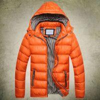 Wholesale Winter men s clothes down jacket coat men s outdoors sports thick warm parka coats amp for man clothing