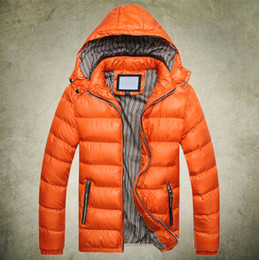 Wholesale Winter men s clothes down jacket coat men s outdoors sports thick warm parka coats amp for man clothing