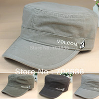 Wholesale Free shopping new Hat male autumn and winter outdoor extreme sidearmer cotton male cadet cap military hat male hat