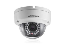 Wholesale Hikvision DS CD2132 I MP Network Dome IP Camera M Security IR Digital HD Waterproof POE Support