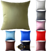 Wholesale Champagne candy solid color cushion cover pillowcase pillow cover cushion case home sofa decoration textile cm
