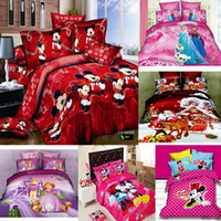 Cheap 100% Cotton mickey mouse Best Woven Home 3d