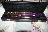 Wholesale New Arrival Purple Flute With Case High Quality Best Woodwind