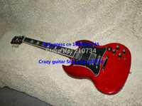 Wholesale Custom Shop Newest red S Model Electric Guitar High Quality Ebony fingerboard