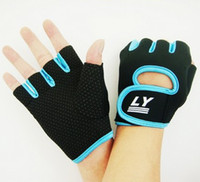 Wholesale Fitness Half Finger Sports Dumbbell Slip resistant Cycling Motorcycle Gloves Luvas Mittens For Men and Women