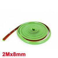 Wholesale Green Soft Plastic mm Width m Long Flexible Car Trim Strip