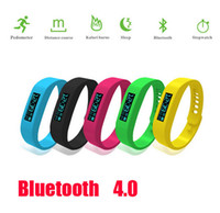 Wholesale Fitbit Model Bluetooth Healthy Bracelet Pedometer Calorie Burnning Sleeping Moniter Stopwatch Long Standby Wristband