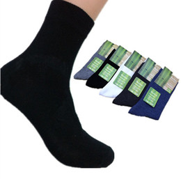 Wholesale pair High Quality Brand New Men Socks male Bamboo cotton Autumn Winter sport socks amp striped socks for men free Size