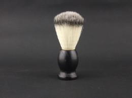 Pincel de barba Preta alça de Madeira total de 11 cm, 12PCS/MONTE W-009 NOVO