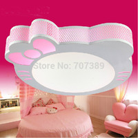 playground surface - Children s bedroom living room playground kindergarten hello kitty designing led ceiling light pink purple large small sizes