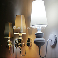 Wholesale New classical Josephine mini classic spanish defender led wall lamp sconce light bedroom lamp light fabric cloth bed light lamp