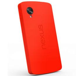 Plástico nexo en Línea-Mayorista de Parachoques del Caso Para el Google Nexus 5 E980 TPU Teléfono Plástico Cubierta de la caja Para LG Nexus 5 Soporte de Carga Inalámbrica, 5 Colores, Negro, Blanco