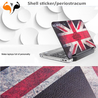 Wholesale Flag Laptop Skins Notebook Paster stickers dazzle colour Union Jack sticker periostracum accessory inch inch