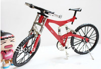 Wholesale DIY handmade Assembled Zinc alloy Metal Bike Bicycle Model building Kits Craft Kits Gift Box for Children