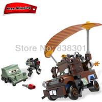 Wholesale Pixar Cars Building Blocks Toys Mater Escape Tow Mater Truck Pixar Car The Scene Blocks Toy Set For Children
