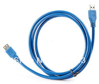 Wholesale 120 USB3 data cable male to female extension cable USB3 m