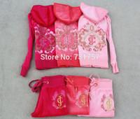 Wholesale New Name brand Velvet children s sports Family fitted Tracksuit girls dress kids clothing sets kids hoodies amp pants