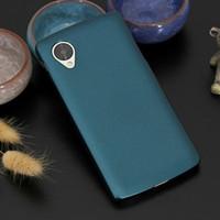 al por mayor cubierta del teléfono lg nexus-Mayorista-Slim Duro Volver funda para el Nexus5 Para LG Google Nexus 5 E980 D820 D821 Teléfono Celular fundas de Protección