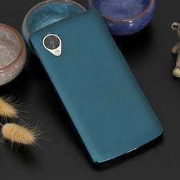 Wholesale-Slim Hard Back Case Cover for Nexus5 For LG Google Nexus 5 E980 D820 D821 Cell Phone Protective Cases