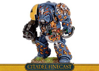 Wholesale Space Wolves Rune Priest in Terminator Armour RESIN